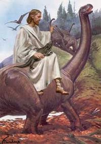 Anti-science-Jesus_Dinosaur
