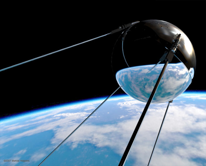 Sputnik Satellite Cold War