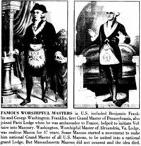Washington-Franklin-masons