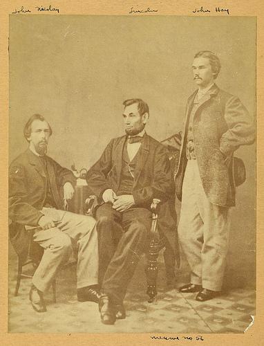 Lincoln & his secretaries, Nicolay & Hay