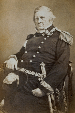 General Winfield Scott by Mathew Brady, 1861
