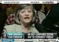 Sally-kern-gays-terrorists-msnbc