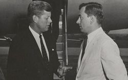 Gore Vidal and JFK