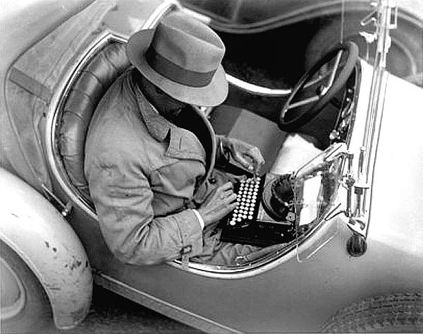 Journalist-car