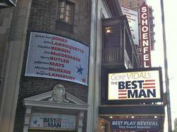Best Man marquee by David