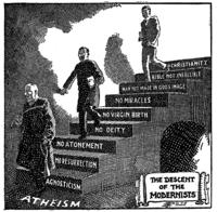 Descent_of_the_Modernists,_E._J._Pace,_Christian_Cartoons,_1922