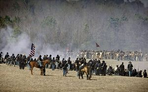 Bentonville — US Civil War re-enactment