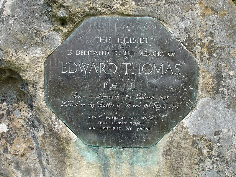 800px-Edward_Thomas_memorial_stone